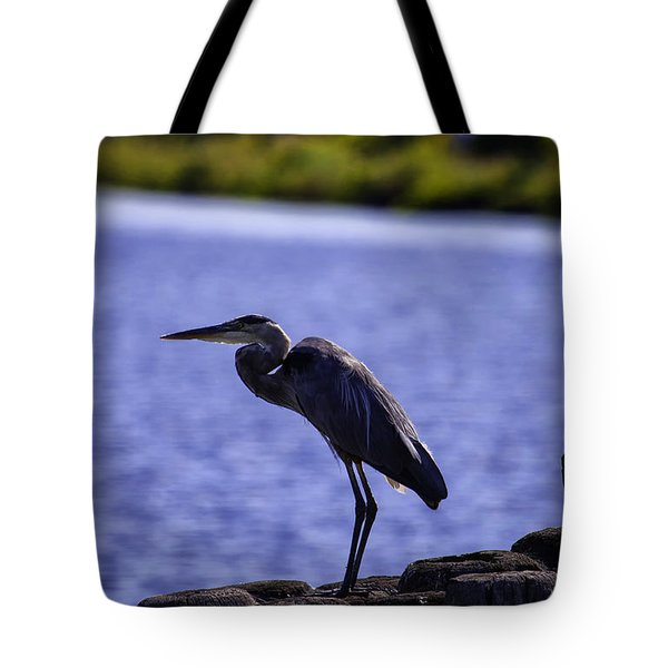Standing On The Dock Of The Bay Tote Bag
