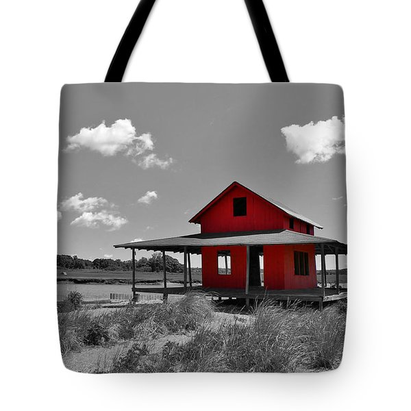 Standing Out All Alone Tote Bag by Catie Canetti