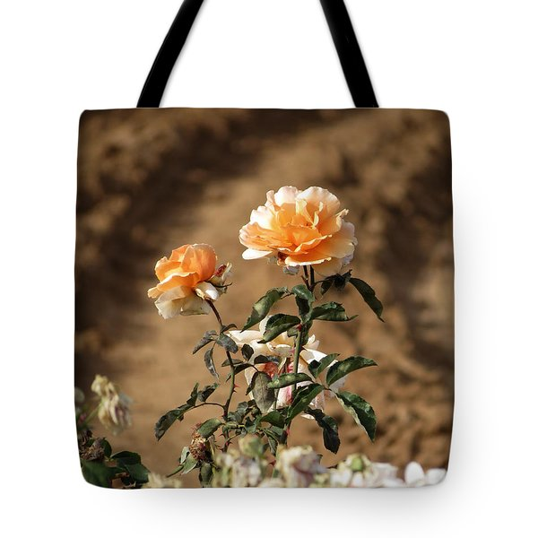 Tote Bag featuring the photograph Standing Out by Laurel Powell