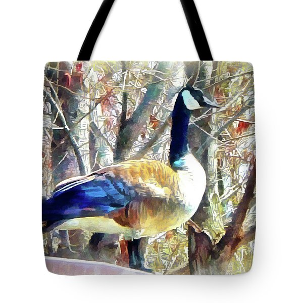 Standing Sentry Tote Bag