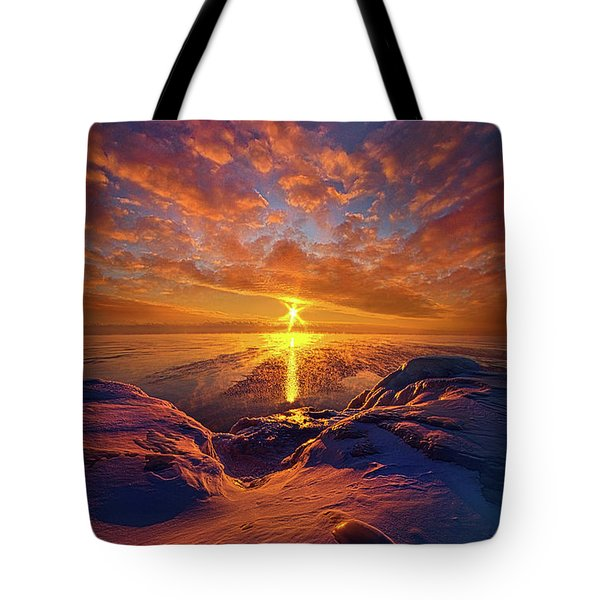 Tote Bag featuring the photograph Standing Stilled by Phil Koch
