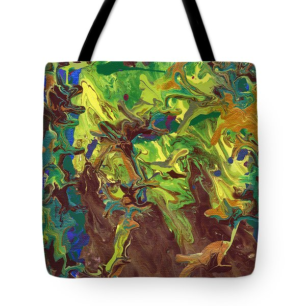 Standing Strong Against The Wind Tote Bag