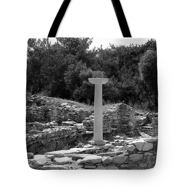 Standing Tall Tote Bag by MJ Tibor
