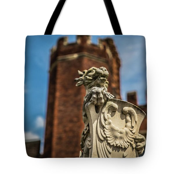 Tote Bag featuring the photograph Standing Watch by Lora Lee Chapman