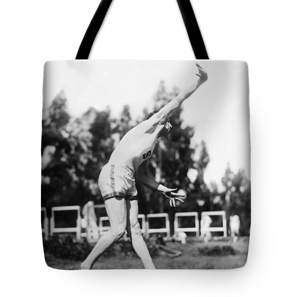 Stanford Field Star Hartranft Tote Bag by Underwood Archives