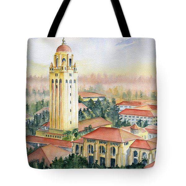 Stanford University California Tote Bag by Melly Terpening