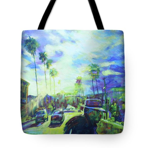 Stanley And Sunset Tote Bag