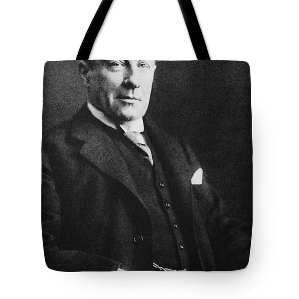 Stanley Baldwin, English Politician Tote Bag by Photo Researchers