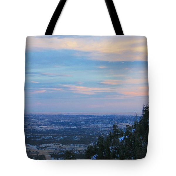 Stanley Canyon Hike Tote Bag by Christin Brodie