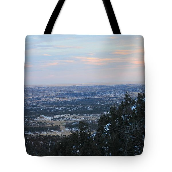 Stanley Canyon View Tote Bag by Christin Brodie