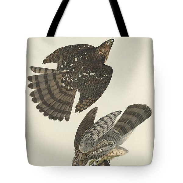 Stanley Hawk Tote Bag by Anton Oreshkin