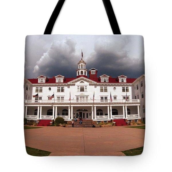 Stanley Hotel - Estes Park Colorado Tote Bag by Donna Greene