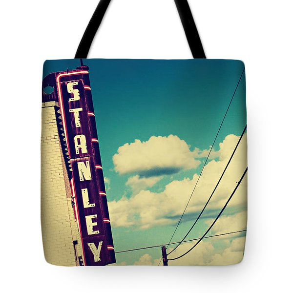 Tote Bag featuring the photograph Stanley by Trish Mistric
