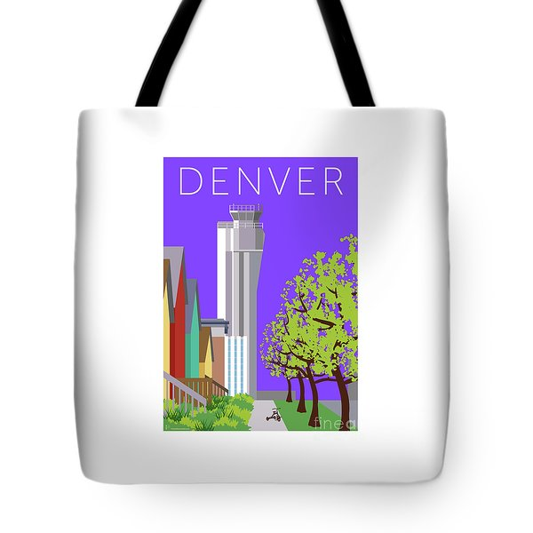 Tote Bag featuring the digital art Stapleton Spring by Sam Brennan