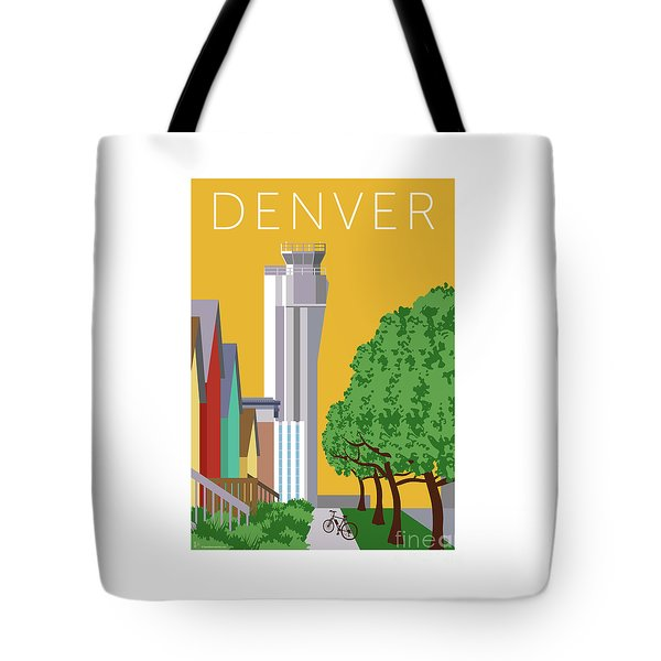 Tote Bag featuring the digital art Stapleton Summer by Sam Brennan