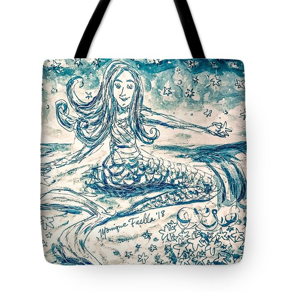 Star Bearer Mermaid Tote Bag