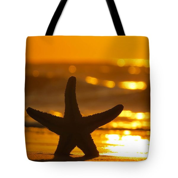 Star Bokeh Tote Bag