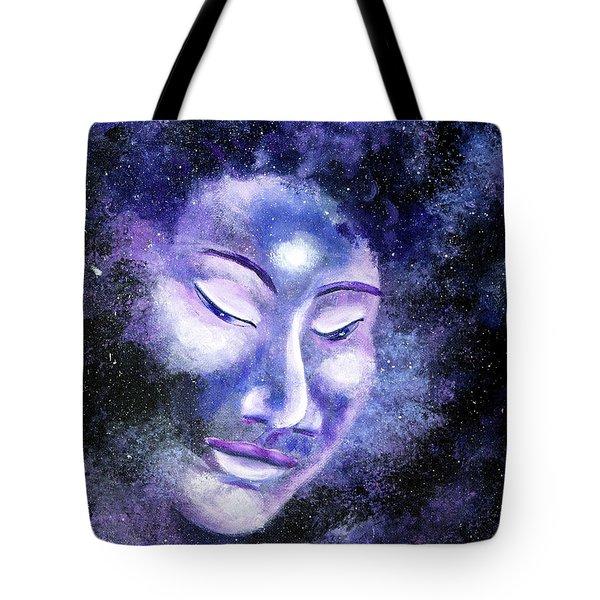 Star Buddha Of Equanimity Tote Bag