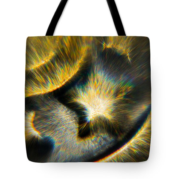 Tote Bag featuring the photograph Star Burst by Greg Collins