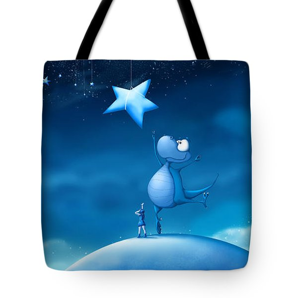 Star Catching Tote Bag