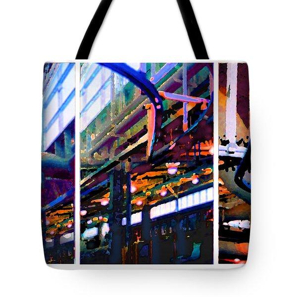 Star Factory Tote Bag by Steve Karol