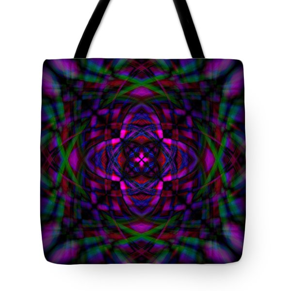 Star Flower Tote Bag