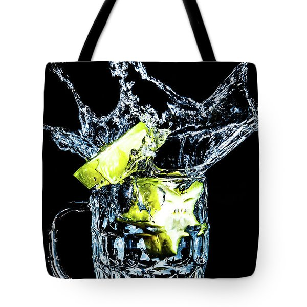 Star Fruit Splash Tote Bag