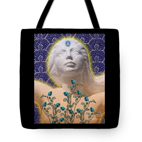 Star Goddess Tote Bag by Keith Dillon