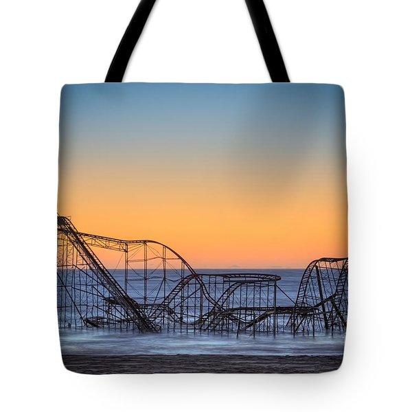 Star Jet Roller Coaster Ride  Tote Bag