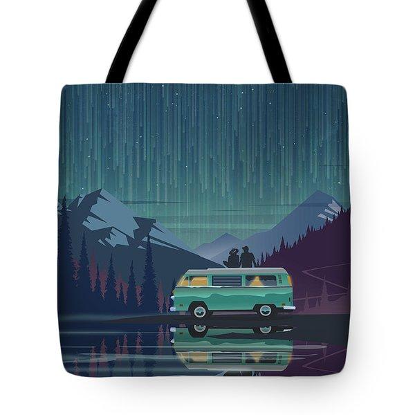 Star Light Vanlife Tote Bag