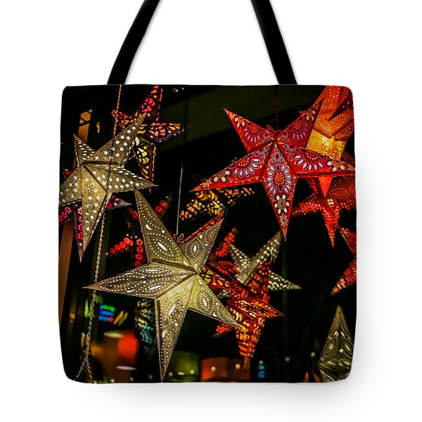 Star Lights Tote Bag