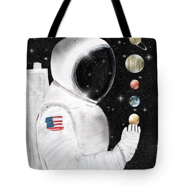 Tote Bag featuring the painting Star Man by Bri B