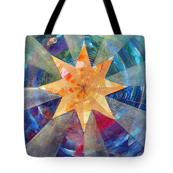 Star Mandala 1  Tote Bag