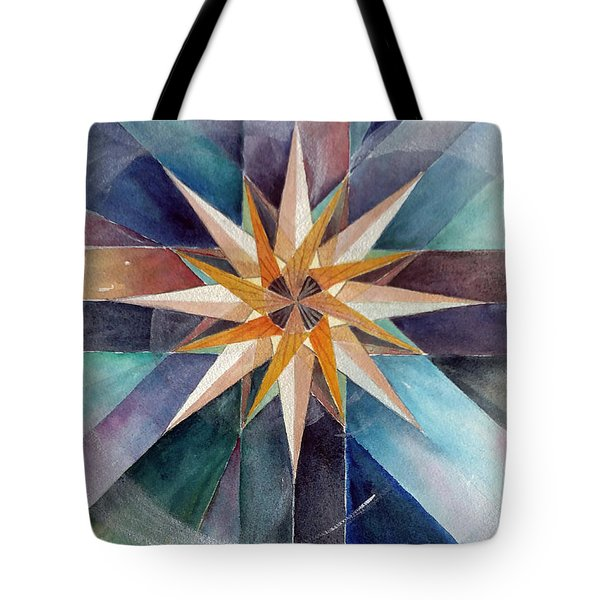 Star Mandala 2  Tote Bag