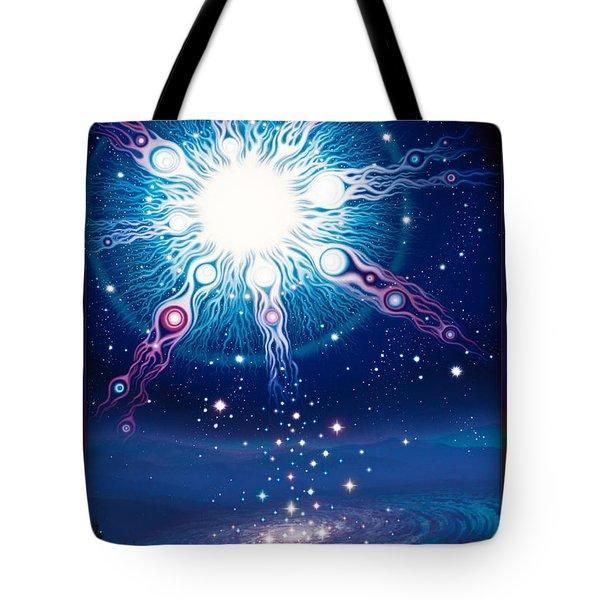 Star Matrix Tote Bag
