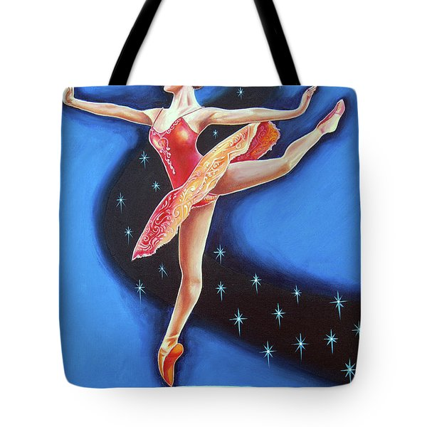 Star Night Tote Bag by Ragunath Venkatraman