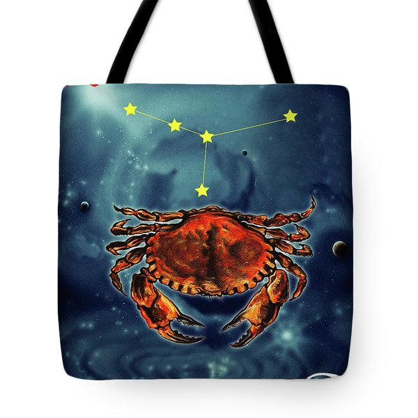 Star Of Cancer Tote Bag