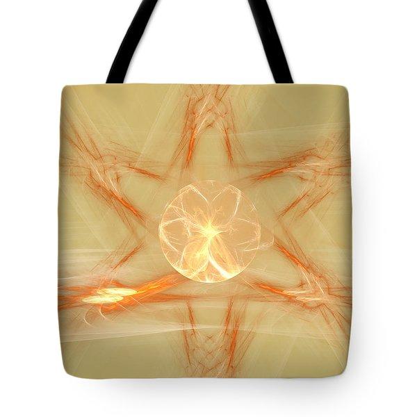 Star Of New Beginnings Tote Bag
