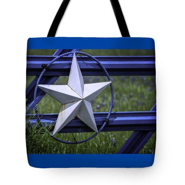 Star Of Texas Tote Bag