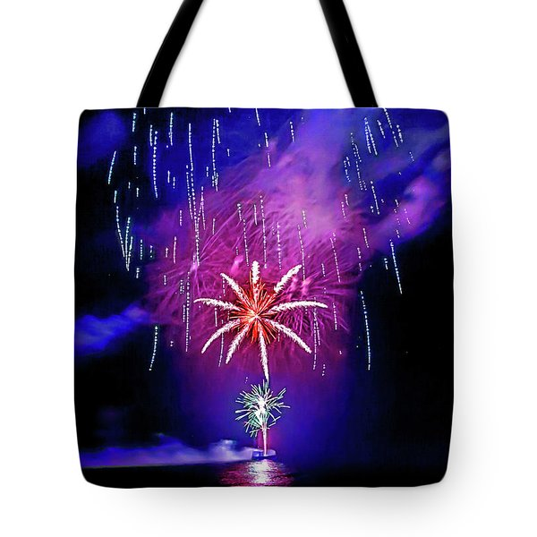 Tote Bag featuring the photograph Star Of The Night by Az Jackson