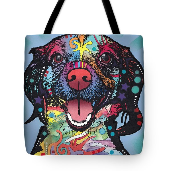 Tote Bag featuring the painting Star Of The Show by Dean Russo
