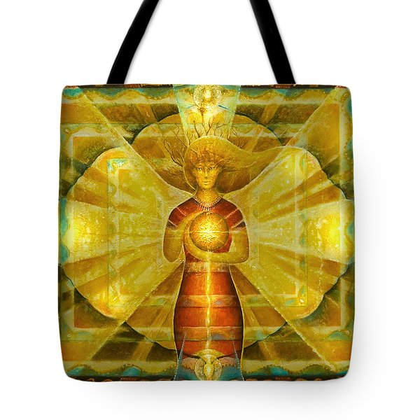 Star Of Venus Tote Bag
