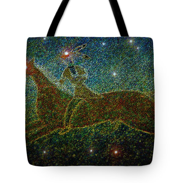 Star Rider Tote Bag by David Lee Thompson