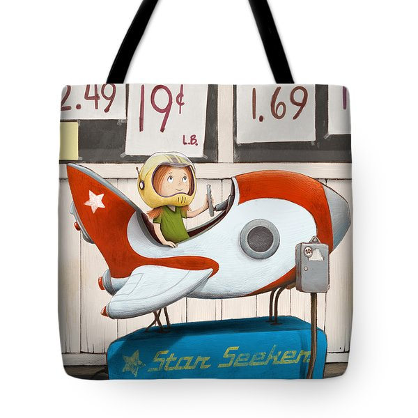 Star Seeker Tote Bag