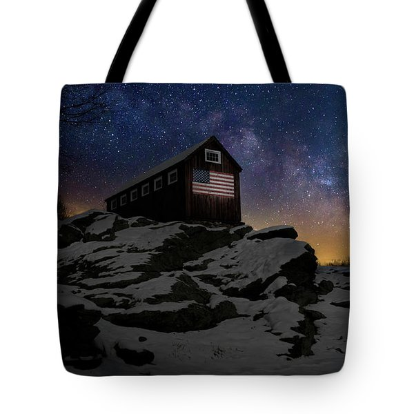 Tote Bag featuring the photograph Star Spangled Banner by Bill Wakeley