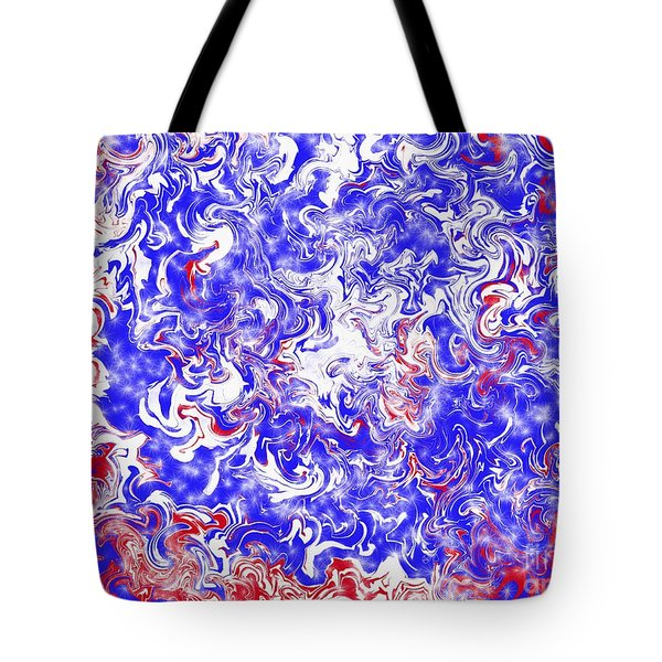 Star Spangled Glamour Tote Bag