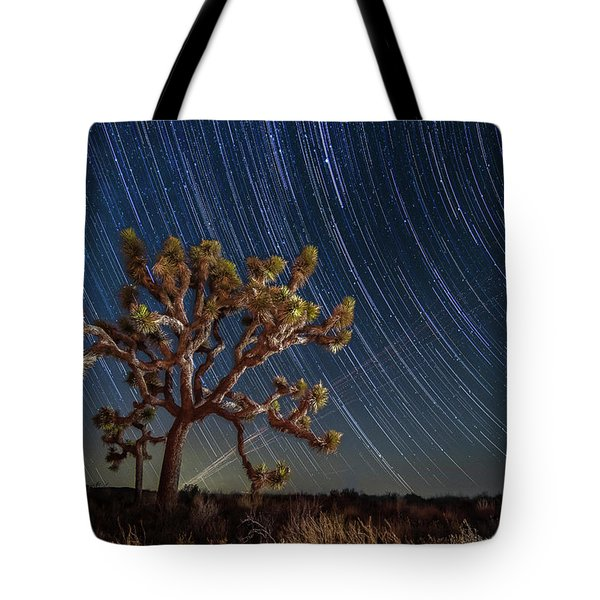 Star Spun Tote Bag