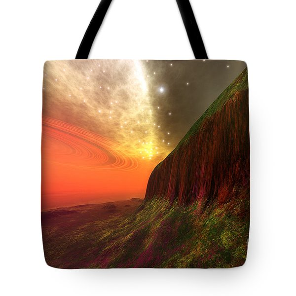 Star Stuff Tote Bag by Corey Ford