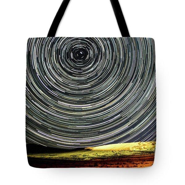 Star Trail Tote Bag