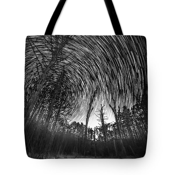 Star Trails - Blue Ridge Parkway Tote Bag